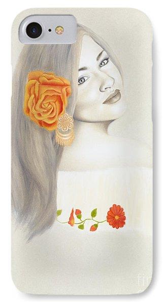 La Diva Phone Case by Lorena Rivera