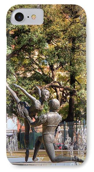 La Fuento De Los Bailarines Phone Case by Deborah Smolinske