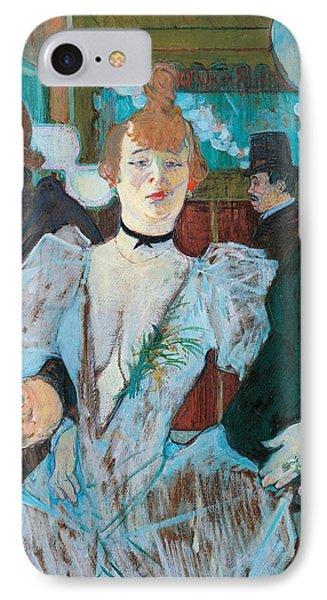 La Goulue Arriving At Moulin Rouge With Two Women Phone Case by Henri de Toulouse Lautrec
