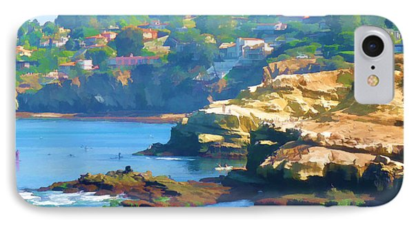 La Jolla California Cove And Caves IPhone Case