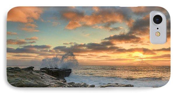 La Jolla Cove At Sunset IPhone Case by Eddie Yerkish