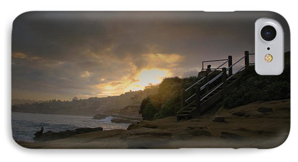 IPhone Case featuring the photograph La Jolla Cove Sunrise by Jeremy McKay