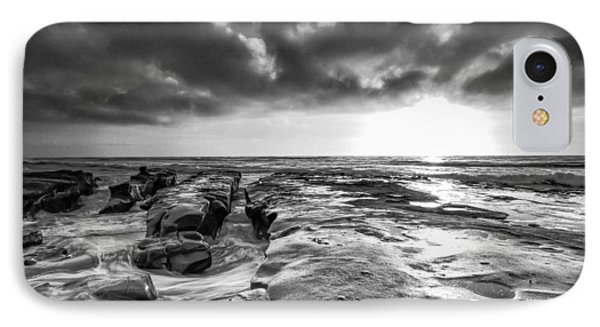 La Jolla In Black And White IPhone Case by Robert  Aycock