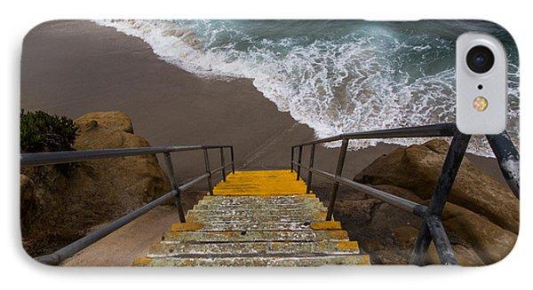 La Jolla Stairs 2 IPhone Case