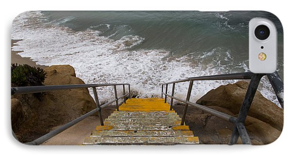 La Jolla Stairs IPhone Case