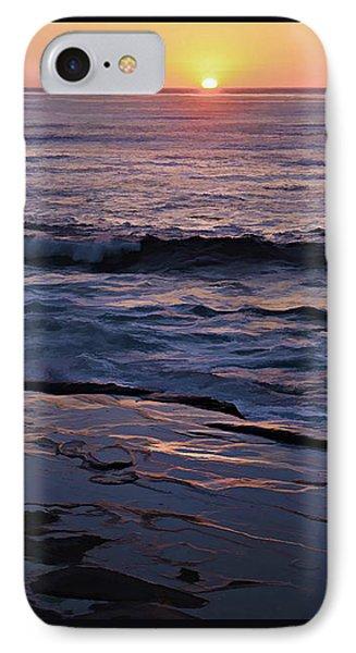La Jolla Sunset Reflection IPhone Case by Sharon Soberon
