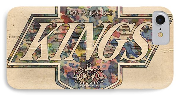 La Kings Vintage Art IPhone Case