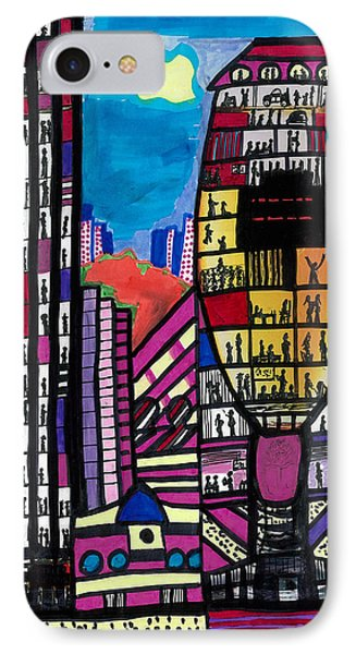 IPhone Case featuring the digital art La Lifestyle by Don Koester