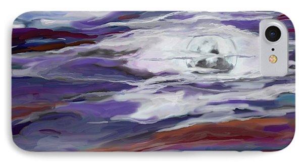 La Luna 2 IPhone Case by Jeanne Fischer