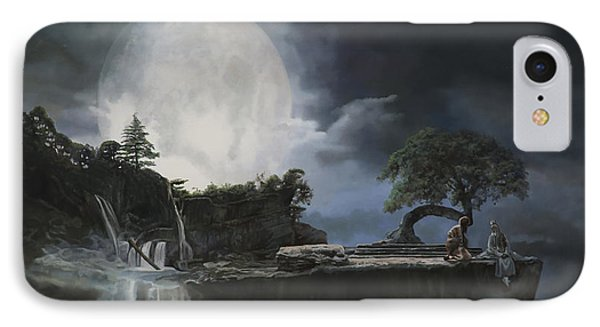 La Luna Bianca IPhone Case by Guido Borelli