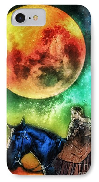 La Luna IPhone Case by Mo T