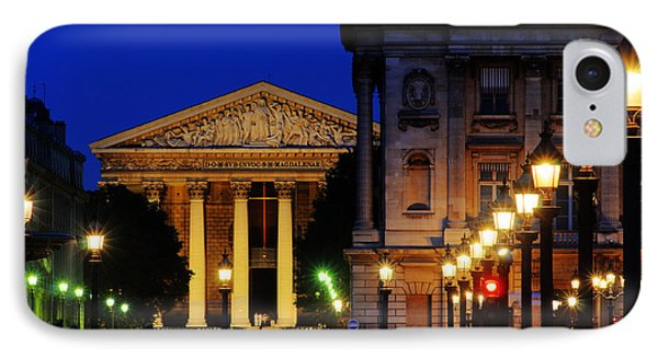La Madeleine At Night Phone Case by Colin Woods