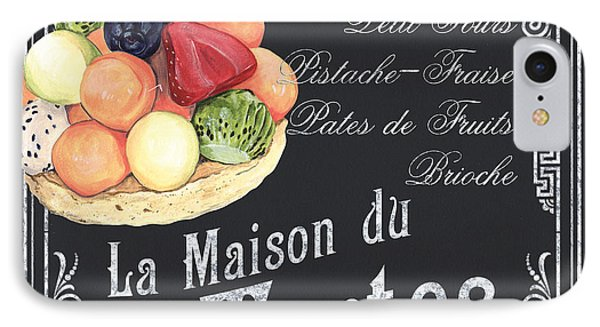 La Maison Du Tartes IPhone Case by Debbie DeWitt