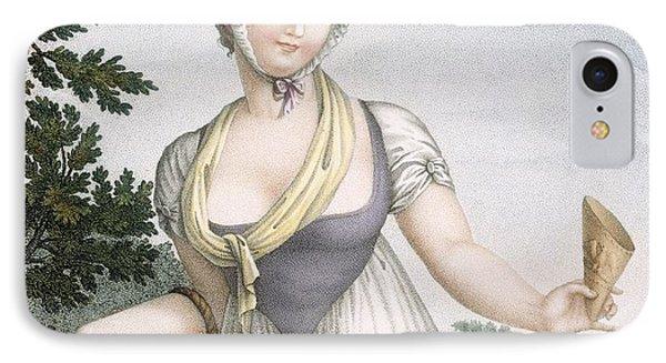 La Marchande De Plaisirs, Engraved IPhone Case