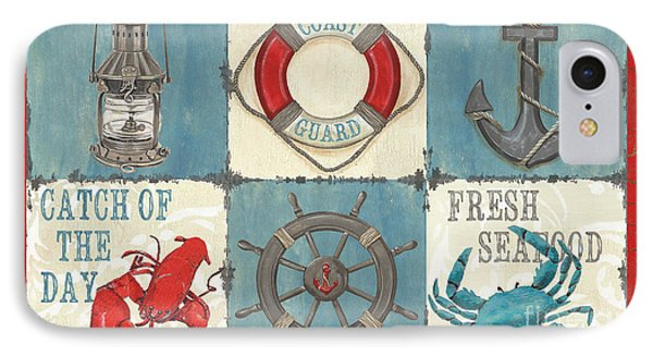 La Mer Collage IPhone Case by Debbie DeWitt