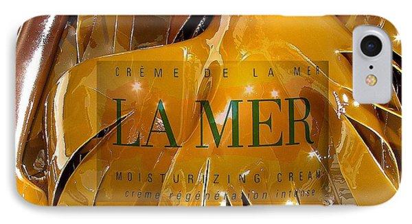 La Mer Creme IPhone Case by Donnie Freeman