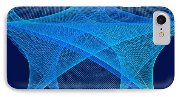 IPhone Case featuring the digital art La Mouche by Karo Evans