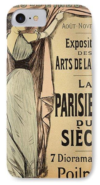 La Parisienne Du Siecle IPhone Case by Jean Louis Forain