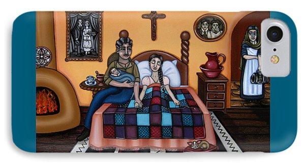 La Partera Or The Midwife Phone Case by Victoria De Almeida