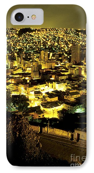 La Paz Cityscape Bolivia IPhone Case by Ryan Fox