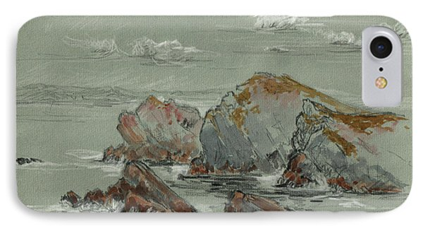 La Penyona Seascape IPhone Case by Juan  Bosco