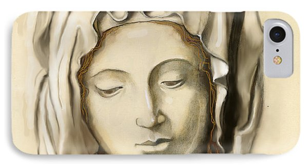 La Pieta 2 IPhone Case by Terry Webb Harshman