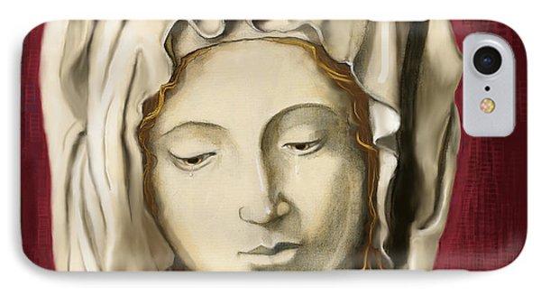 La Pieta 3 IPhone Case by Terry Webb Harshman