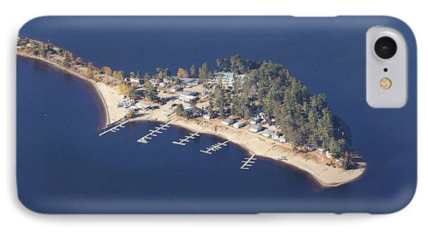 La Pointe A David IPhone Case by Eunice Gibb