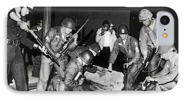 La Police Fight Black Muslims IPhone Case by Underwood Archives