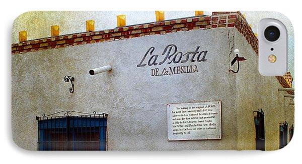 La Posta De La Mesilla IPhone Case