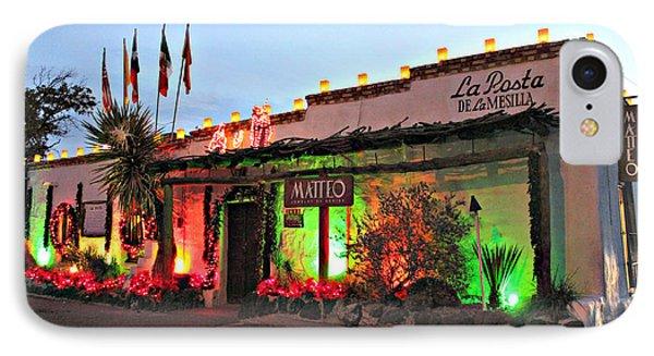 IPhone Case featuring the photograph La Posta De Mesilla New Mexico by Barbara Chichester