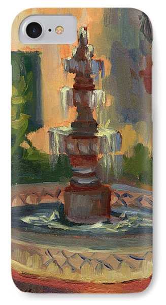 La Quinta Resort Fountain IPhone Case by Diane McClary