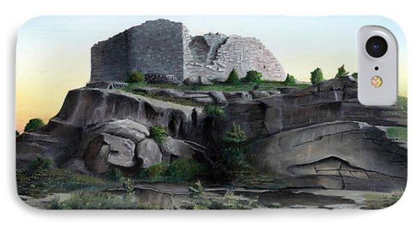 La Rocca De Monte Calvo IPhone Case by Albert Puskaric