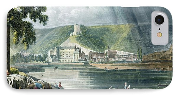 La Roche, From Views On The Seine IPhone Case by John Gendall