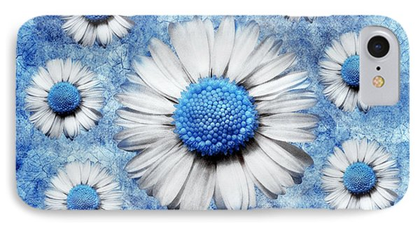 La Ronde Des Marguerites - Blue V05 IPhone Case