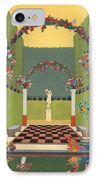 La Salle Verte IPhone Case by Georges Barbier