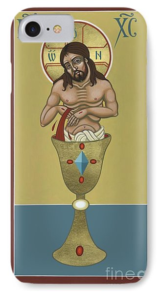 IPhone Case featuring the painting La Sangre De Cristo 242 by William Hart McNichols