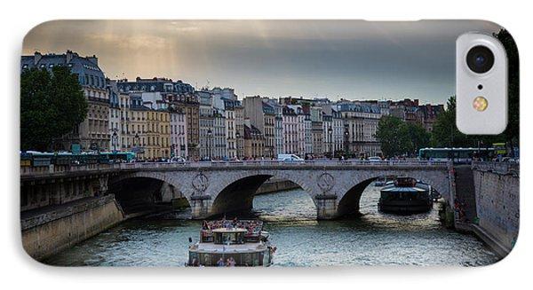 La Seine Phone Case by Inge Johnsson