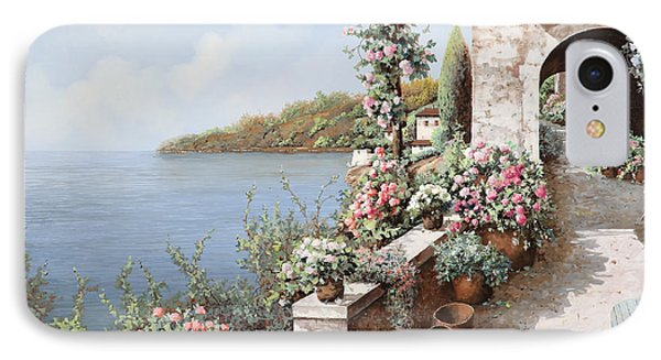 La Terrazza IPhone Case by Guido Borelli