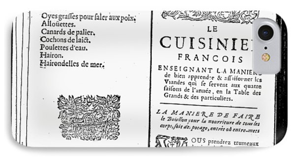 La Varenne Cookbook, 1686 IPhone Case