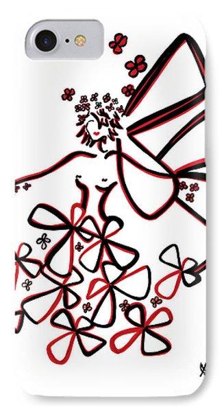La Vie Est Belle IPhone Case