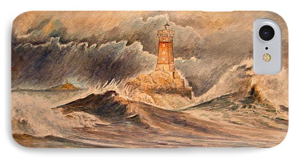 La Vieille Lighthouse IPhone Case