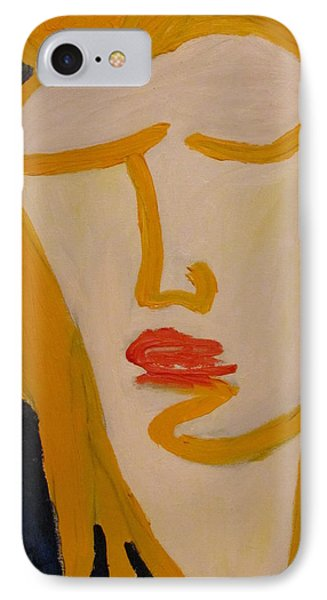IPhone Case featuring the painting L.a. Woman by Shea Holliman