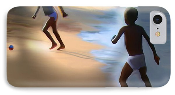 IPhone Case featuring the painting Labadee Beach by Bob Salo