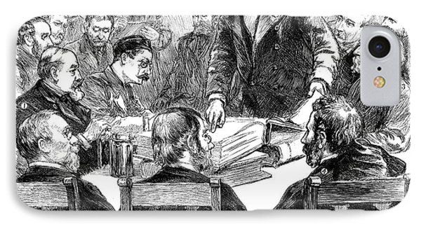 Labor Investigation, 1886 IPhone Case by Granger