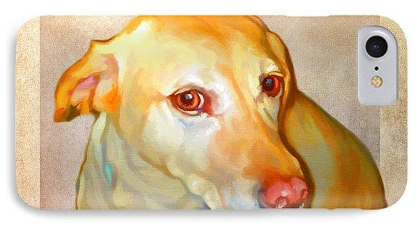 Labrador Art IPhone Case by Iain McDonald