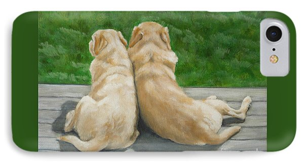 Labrador Lazy Afternoon IPhone Case