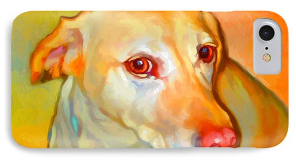 Labrador Painting Phone Case by Iain McDonald