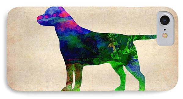 Labrador Retriever Watercolor 2 IPhone Case
