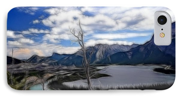 Lac Des Arcs Fractal IPhone Case